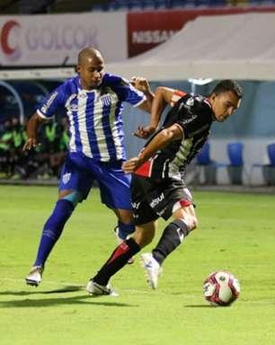 Com gol de Gustavo, Avaí bate o Joinville e sobe na classificação do Catarinense