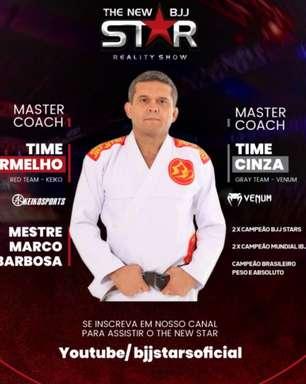 """Treinador da primeira semana do """"The New Star"""", Barbosinha destaca: 'Esses atletas carregam uma grande responsabilidade'"""