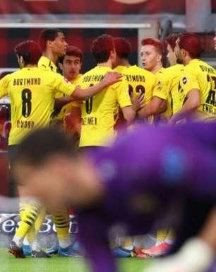Pelo Alemão, Borussia Dortmund vence o Stuttgart de virada em partida com cinco gols