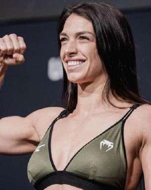 Finalização rende bônus de R$ 280 mil para a brasileira Mackenzie Dern no UFC Vegas 23; confira