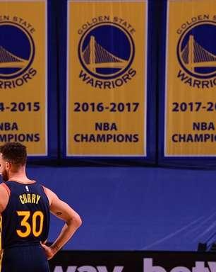 Stephen Curry atinge nova marca em vitória do Warriors