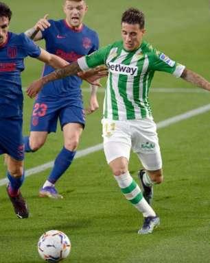 Atlético de Madrid empata com o Betis e segue na liderança