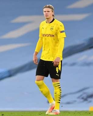 Empresário de Haaland diz que Borussia Dortmund não tem a intenção de vender o jogador