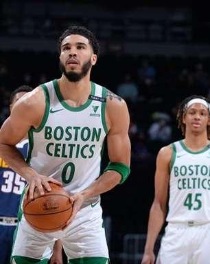 Tatum comanda virada espetacular e Celtics bate Nuggets