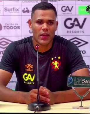 SPORT: Mikael ressalta parceria com Tréllez e minimiza concorrência por vaga no ataque