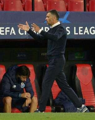 Técnico do Porto elogia atuação da equipe após eliminação: 'Extremamente orgulhoso do grupo'
