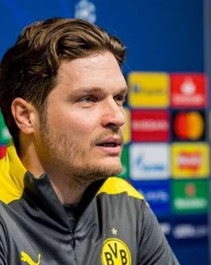 Técnico do Borussia Dortmund acredita em classificação na Champions: 'A confiança é grande'