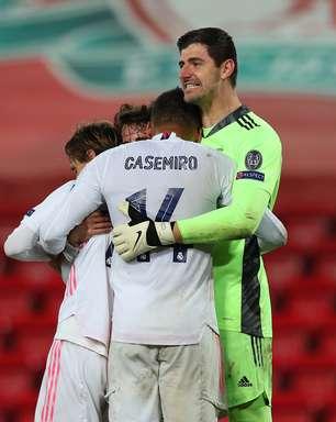 Real segura pressão do Liverpool e fará semi contra o Chelsea