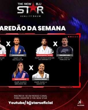 """Após paredão, fãs do Jiu-Jitsu escolhem as primeiras lutas do reality show """"The New Star"""""""