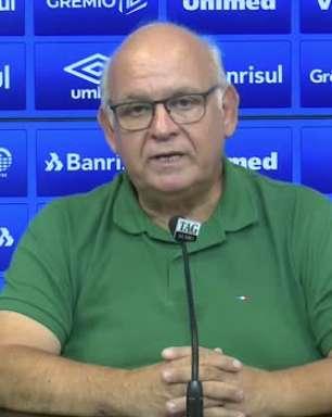 """GRÊMIO: Romildo Bolzan agradece conduta de Renato Gaúcho e deseja sucesso para o treinador: """"chega o momento em é que é necessário tomar caminhos novos"""""""