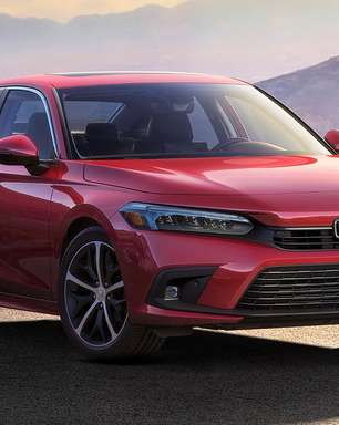 Honda Civic 2022 tem primeira foto oficial revelada