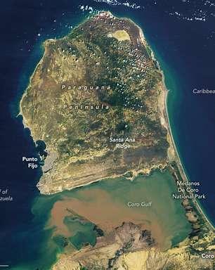 Conheça uma península muito estranha na Venezuela