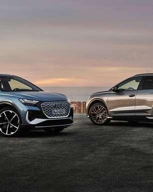 Audi apresenta os novos Q4 e-tron e Q4 Sportback e-tron