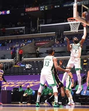Em grande atuação, Brown anota 40 pontos e Celtics derrota Lakers