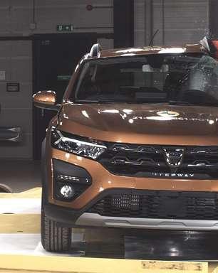 Novo Renault Sandero tira nota baixa em teste de colisão: mas o que isso quer dizer?
