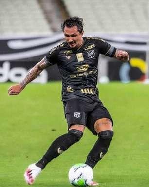 Vina comenta sobre jejum de gols no Ceará