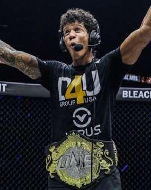 Brasileiro abre possibilidade para revanche contra ex-campeão e coloca carreira em outro patamar no ONE: 'Meu nome está na história