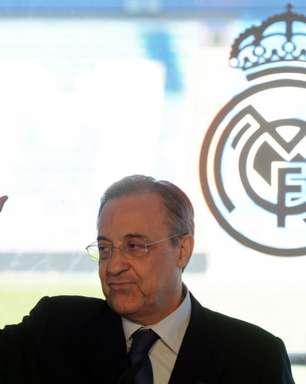 Presidente do Real Madrid, Florentino Pérez fala sobre a Superliga Europeia: 'Fizemos isso para salvar o futebol'