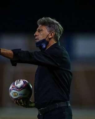 Renato Gaúcho confirma interesse do Santos e elogia Abel