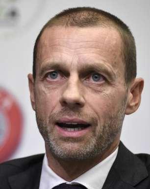 'Jogadores que participarem da Superliga ficarão fora da Eurocopa e do Mundial', diz presidente da Uefa
