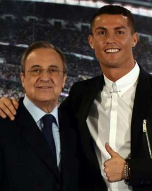 Florentino Pérez, presidente do Real Madrid, diz: 'Cristiano Ronaldo não voltará'