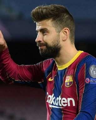 Piqué se posiciona contra a Superliga Europeia: 'O futebol é dos torcedores'
