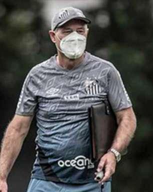 Santos pode repetir escalação do jogo contra o San Lorenzo nesta terça
