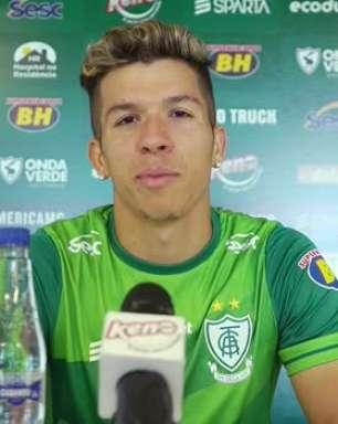 AMÉRICA-MG: Bruno Nazário celebra boa adaptação na equipe e ressalta tranquilidade e confiança para temporada