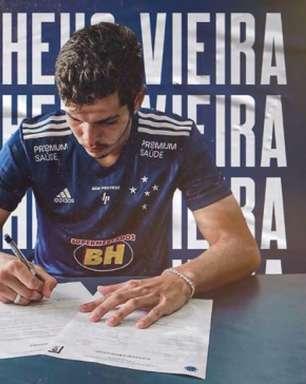 Cruzeiro contrata o zagueiro Matheus Vieira, ex-São Paulo