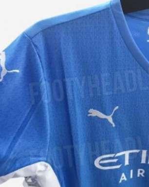 Com 'homenagem' a Agüero, nova camisa do Manchester City é vazada; veja imagens