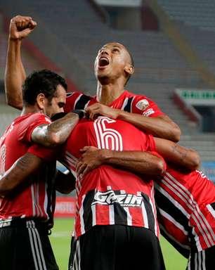 São Paulo atropela o Sporting Cristal pela Libertadores