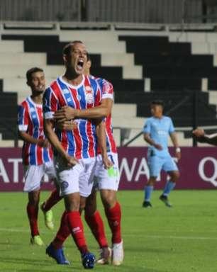 Bahia abre vantagem, mas cede empate ao Montevideo City