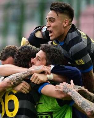 Inter de Milão vence Verona e se aproxima do título do Italiano