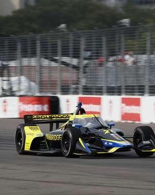 Antes da prova, Colton Herta ainda não sabia qual seria sua estratégia de pneus na Indy