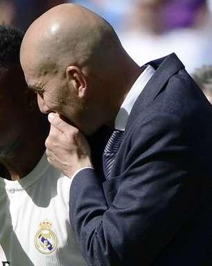 """Vinícius Júnior exalta os """"professores"""" Zidane e Benzema e mira final de Champions League"""