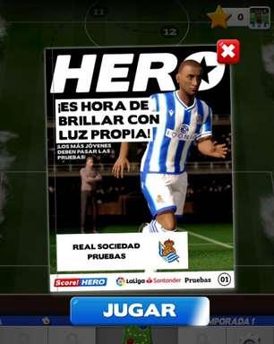Score! Hero 2: Jogo mobiIe lançado mundialmente com equipes licenciadas da LaLiga
