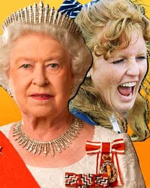 Escândalo do dedão chupado expôs rainha a um vexame mundial