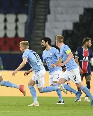 City vira no 2º tempo e vence o PSG na ida da semifinal