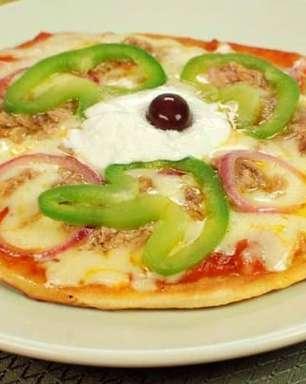 Mini pizza de frigideira para experimentar com a família