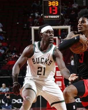 Kevin Porter faz 50, Rockets vence Bucks e Antetokounmpo sai lesionado