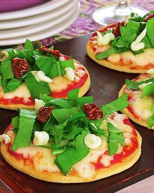Receitas de pizza caseira e vegetariana para provar na sexta-feira