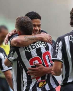Atlético-MG põe 'um pé' na final do Mineiro ao vencer o Tombense no duelo de ida das semifinais