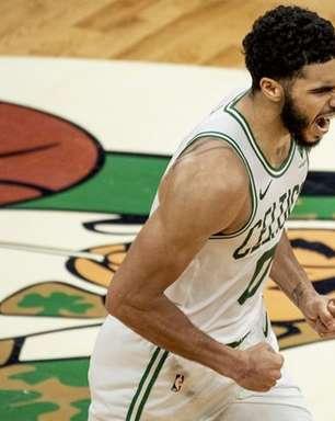 Tatum anota 60 pontos e Celtics consegue virada incrível sobre Spurs