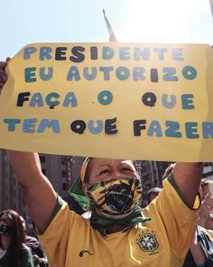 Bolsonaristas organizam ato contra medidas restritivas e STF