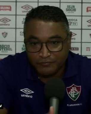 """FLUMINENSE: Roger Machado destaca importância em se ter um elenco grande: """"Não jogamos futebol só com 11 jogadores"""""""