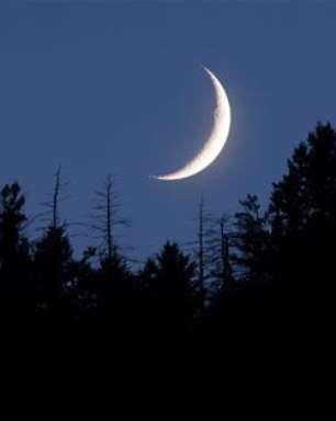 Lua Minguante em Aquário