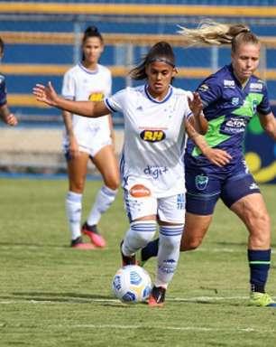 Meninas do Cruzeiro conseguem a primeira vitória no Brasileiro A1