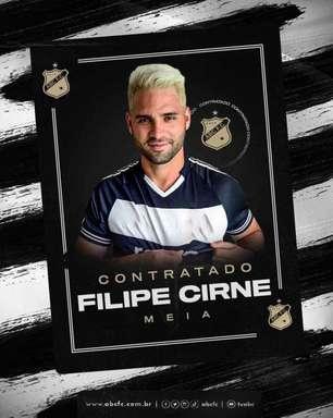 ABC apresenta o meia Filipe Cirne, que se diz motivado para defender o novo clube