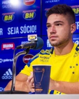 Cruzeiro apresenta Guilherme Bissoli, que diz ser um atacante de mais mobilidade no campo