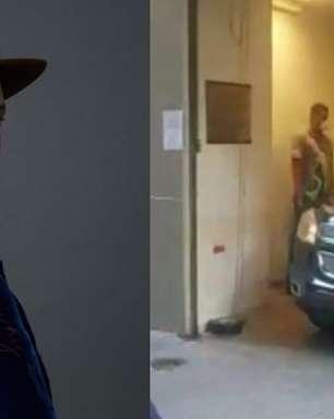 Carro com corpo de Paulo Gustavo deixa hospital no Rio de Janeiro; veja vídeo